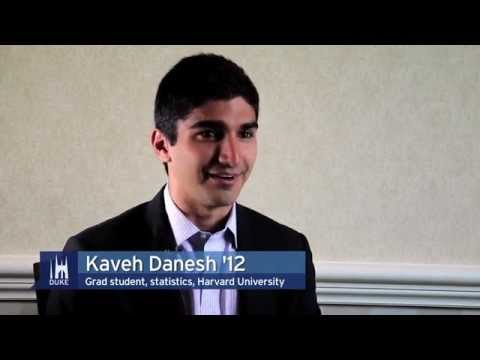 Duke University Alumni: Kaveh Danesh '12