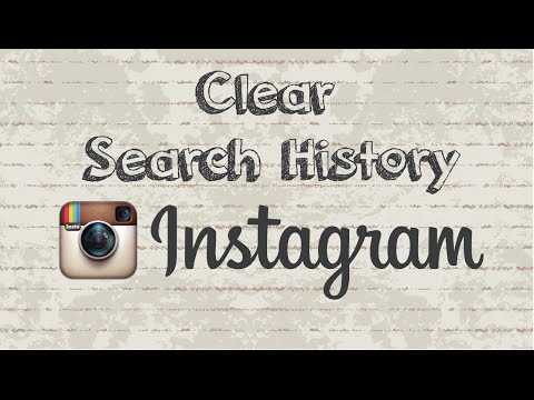 How to clear your search history on Instagram