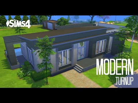 Sims 4 House Building - Modern TurnUp