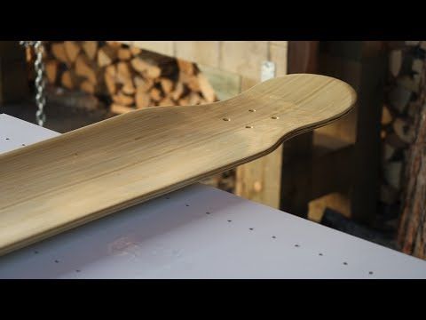 BAMBOO LONGBOARD (with fibreglass and carbon fibre)