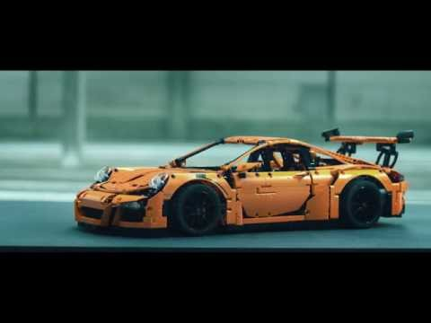 Build your dream car: Porsche 911 GT3 RS - LEGO Technic - 42056