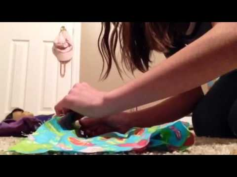 How To Make A Doll Bed Pillow!