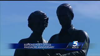 Edmond community honors those lost, injured in deadly 1986 post office shooting