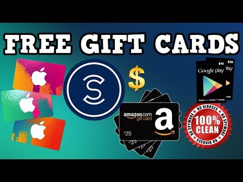 HOW TO GET FREE GIFT CARDS (2018) TOTALLY LEGIT | AMAZON, APPLE, GOOGLE PLAY STORE WITH SWEATCOIN