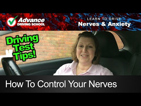How to control your driving test nerves  |  New UK Driving Test