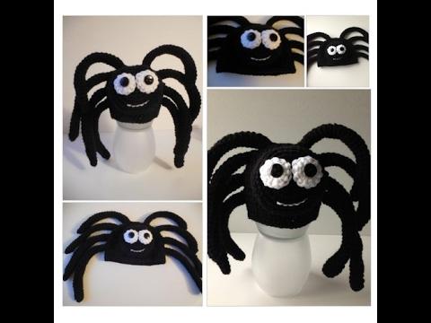 Spider Baby Animal Hat - Photo Prop - Halloween Spider Hat -