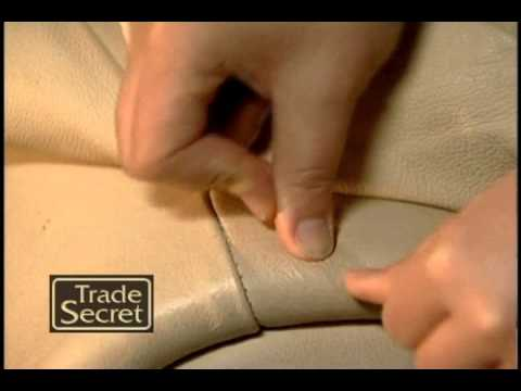 Leather Repair: Chewing Gum