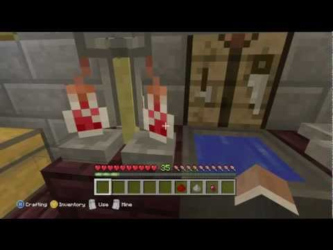 Minecraft for Xbox - How to make a potion of Poison!