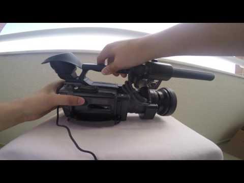 sony pd170 mini dv / dvcam filmadora