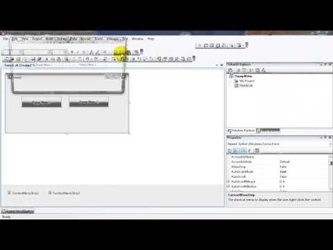 Create Popup Menu in Visual Basic 2008