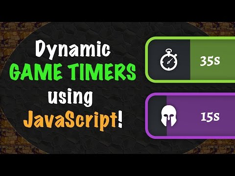 Dynamic SKILL TIMER using JavaScript!