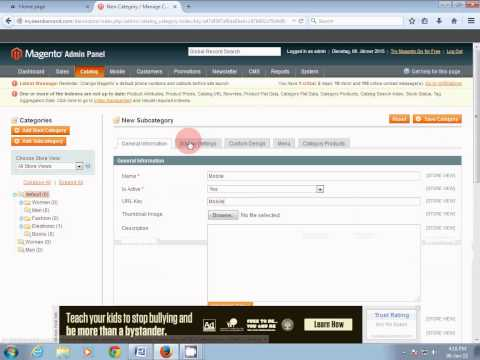 how to add menu in magento in hindi (tutorial-1)