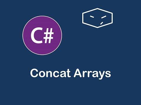 concat arrays in c#