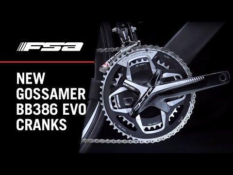 New FSA Gossamer BB386EVO Crankset