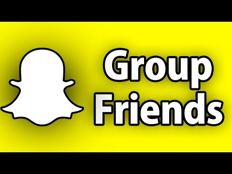 Snapchat Hacks - How To Group Friends On Snapchat