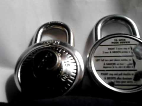 Combination Lock comedy. Guess the combo for $50.