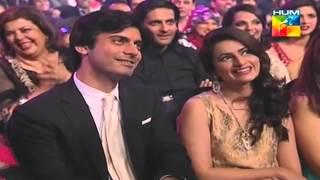 Fawad Khan's humorous scene about hair clip scene from Humsafar (1st HumTv Awards 2013) HD
