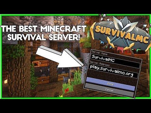 SurvivalMC | A Semi-Vanilla Server | Vote Ranks | 1.12.2