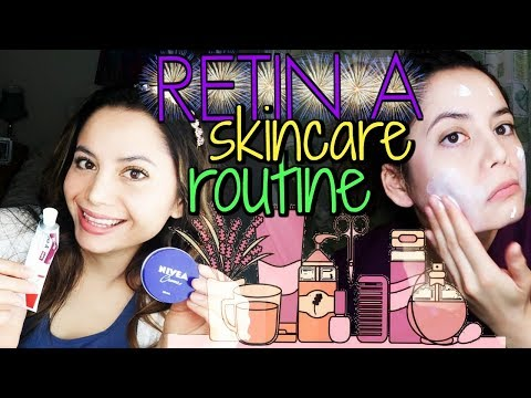 Retin A Skin Care Routine | How To Apply Retin A STEP BY STEP
