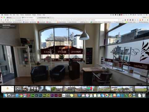 How to add a google business view tour to website