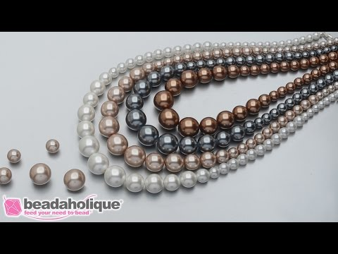 How to Make the Kensington Graduated Pearl Necklace - An Exclusive Beadaholique Kit