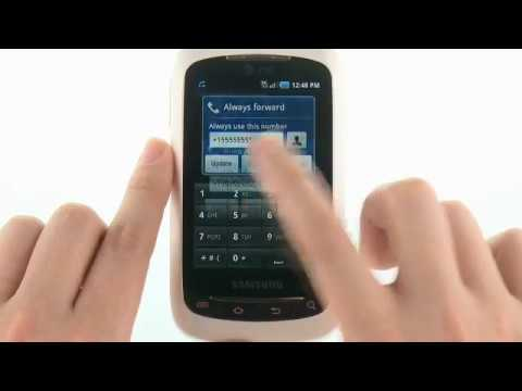 Activate or Deactivate Call Forwarding with the Samsung DoubleTime™: AT&T How To Video Series