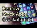 Remove Stock iOS 8 Apps Without Jailbreaking Your iPhone [How-To]