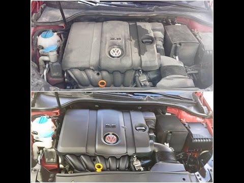 Engine bay wash