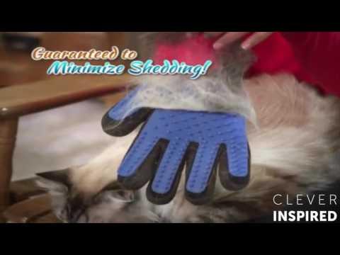 magic glove dog/cat hair groomer grooming glove
