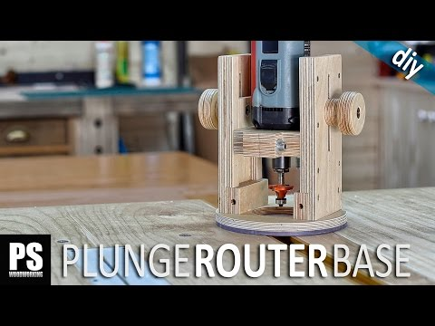 Plunge Router Base
