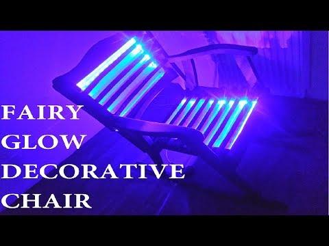 DIY Fairy Glow Decorative Chair ; CHAIR LAMP ; Christmas Decoration Idea