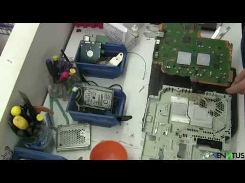 PS3 HDMI Port Fix Arabic - إصلاح مدخل الأتشدي للبليستيشن 3