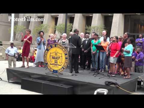 #MoralMonday Choir, Raleigh, NC, Walk on Washington, DC