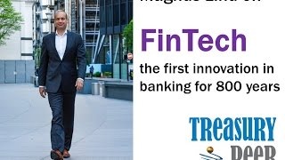Fintech explained by Magnus Lind