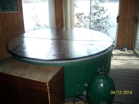How to make a light top for a Lay Z Spa Hot Tub