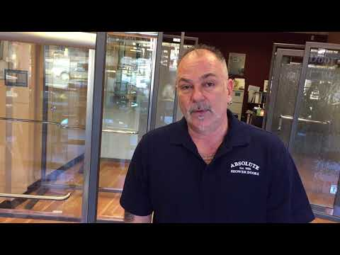 Chris from Absolute Shower Doors talks about DFI protective coating for your shower door glass