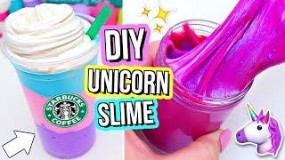 3 DIY UNICORN SLIMES! How To Make THE BEST Magical Unicorn Slime!
