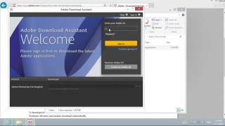 How to install Photoshop CS6 on Windows 8 For Free (Video Tutorial)