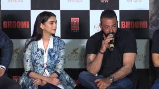Sanjay Dutt REVEALS Why It Was ESSENTIAL To Launch The Trailer Today | Bhoomi Trailer Launch