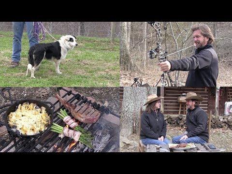 Cowboy Steak, Scalloped Potatoes & Training Murphy the Border Collie(Episode #549)