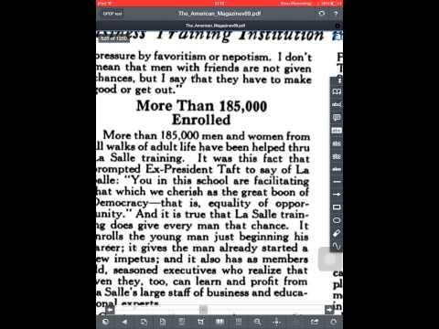 Google PDF test on iPad Air 2: The_American_Magazinev89