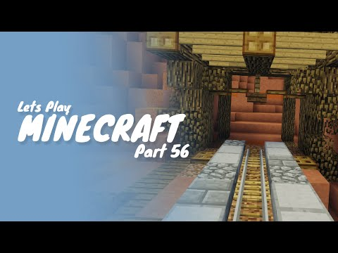 Minecraft :: Part 56 :: How To Build A Train Track