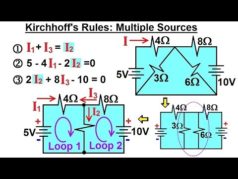 Physics - E&M: Ch 41.1 Ohm's Law & Resistor Circuit Understood (23 of 42) Kirchhoff's Rule: Ex. 3