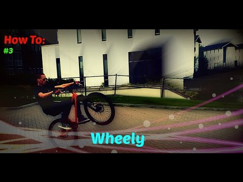 MTB street Dirt jump How to - Wheelie Tutorial (Dirt Bike)