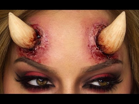 How To Make Devil Horns - DIY | Shonagh Scott | ShowMe MakeUp
