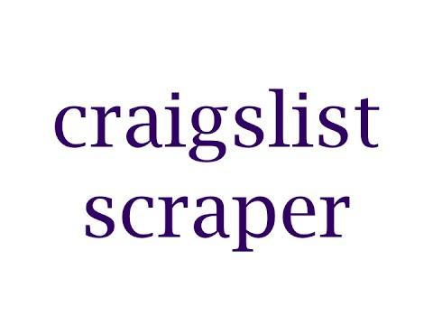 Craigslist Email Scraper | M4W | CL Automation 2017