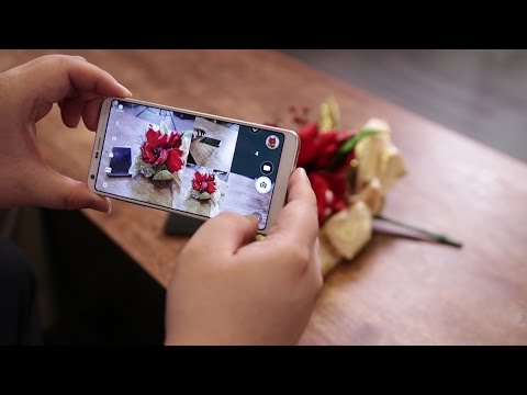 Making full use of LG's G6 18:9 screen and the Square Camera mode