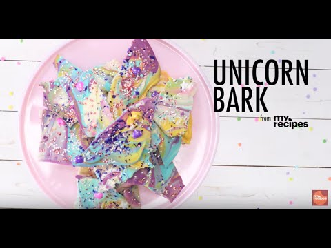 How to Make Unicorn Bark | MyRecipes