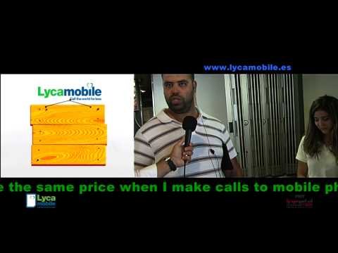 Lycamobile UK Ferries campaign in Spain 2013-2014