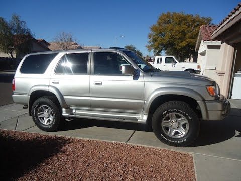 2000 Toyota 4Runner 4WD manual buying tips